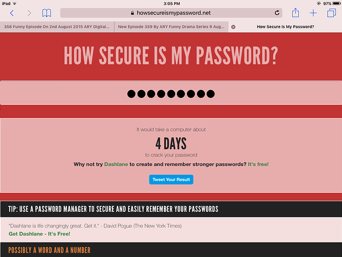Find how secure the above person is - Forums Games - The