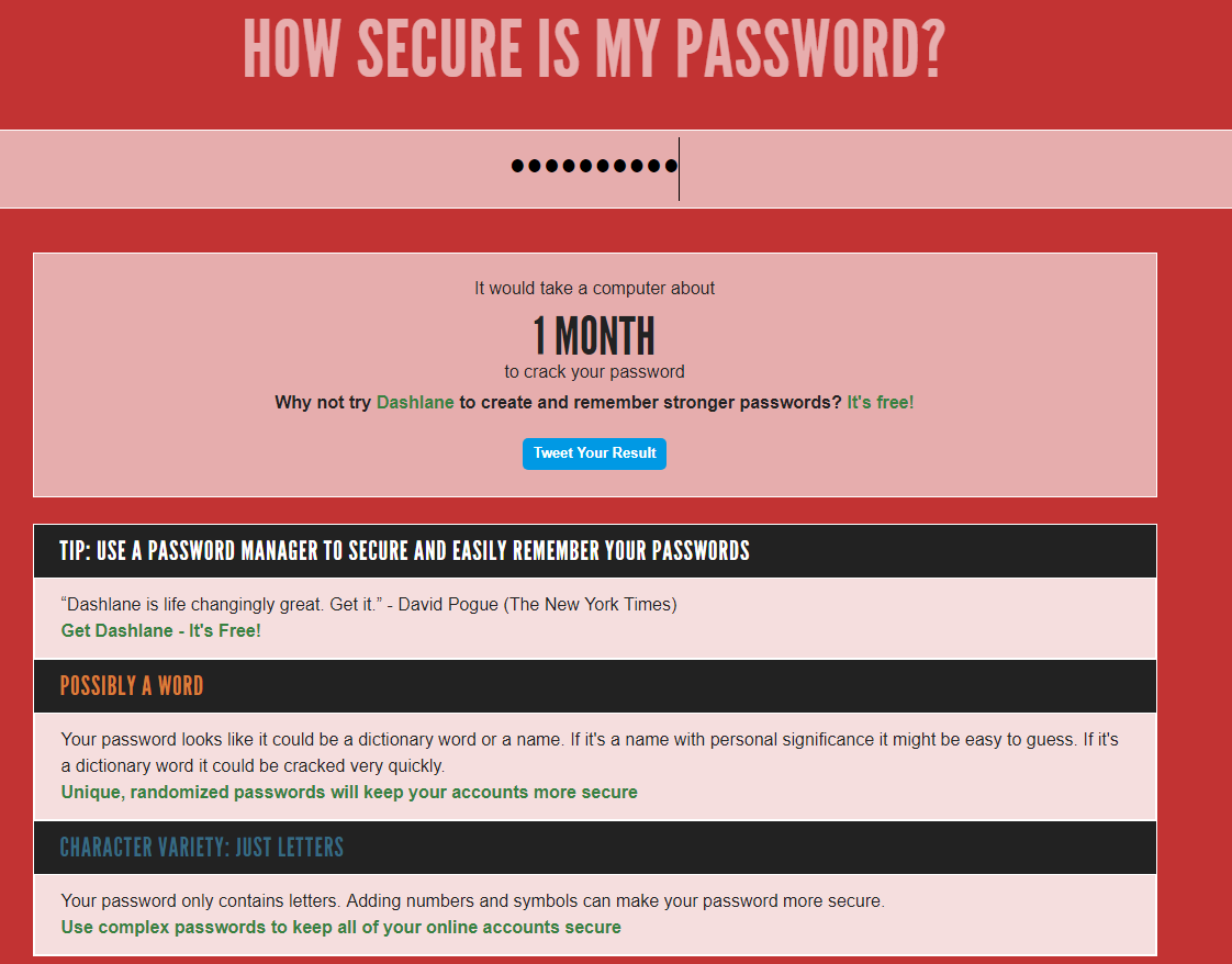 Crack My Password
