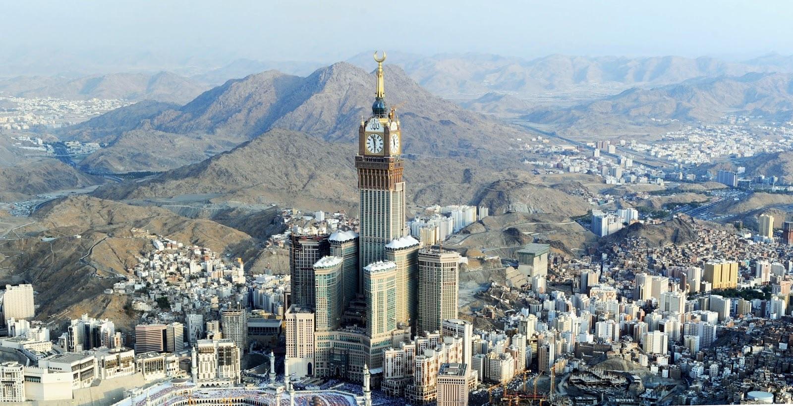 Kết quả hình ảnh cho Makkah Royal Clock Tower